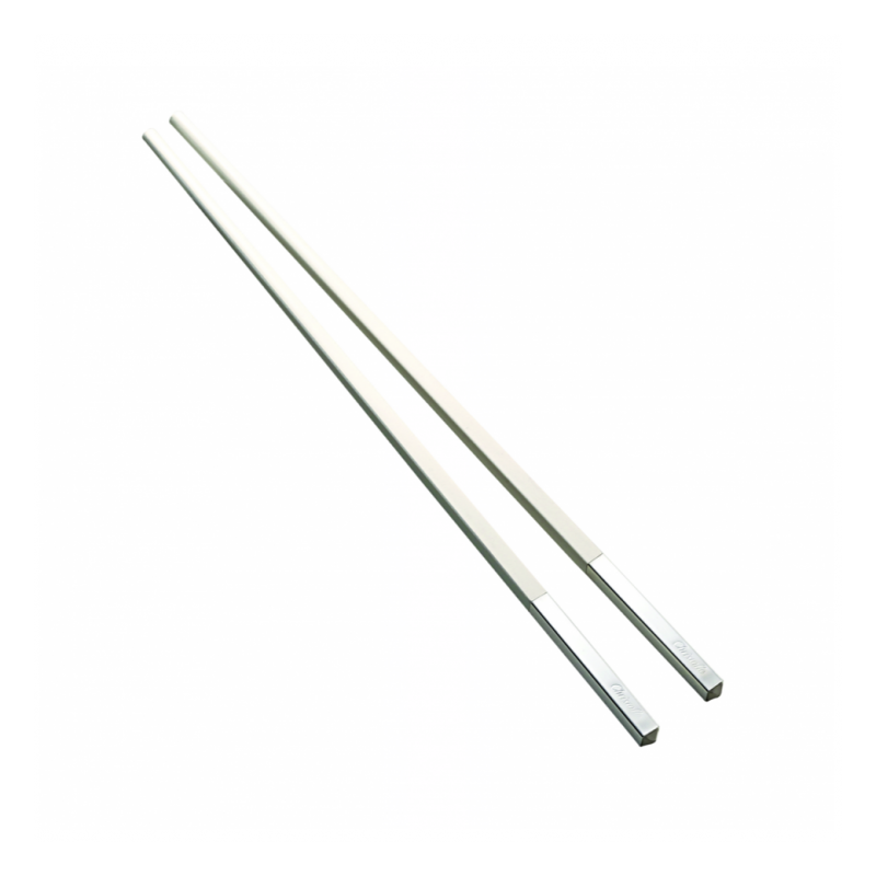 Uni Silver-Plated White Chinese Chopsticks