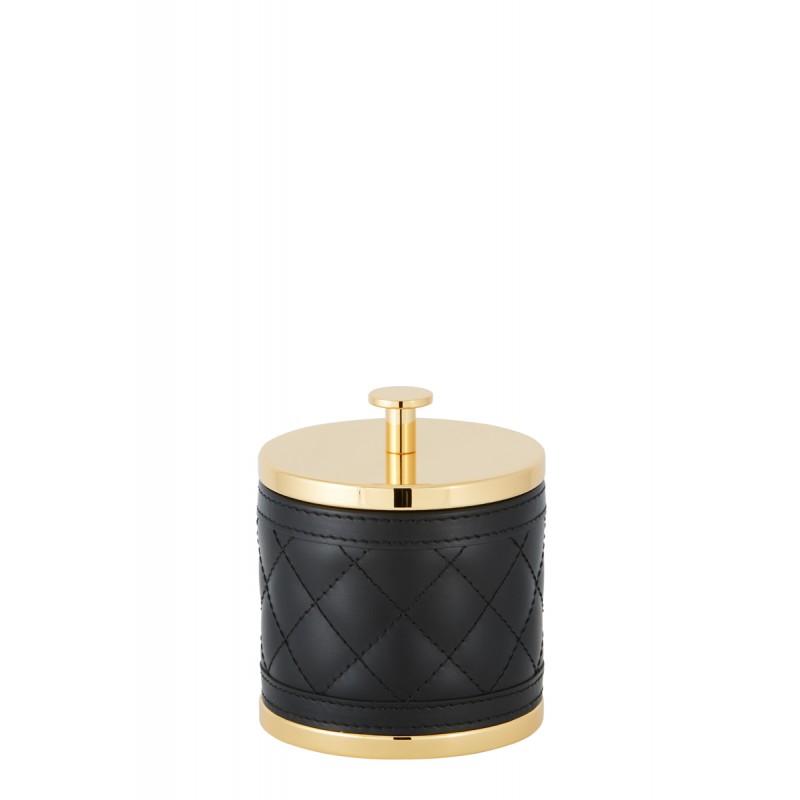 Small Round Box Black