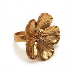 Dogwood Napkin Ring Gold