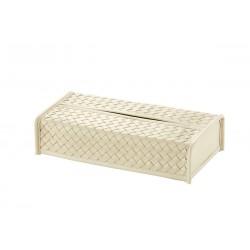 Rectangular Tissue Box Ivory