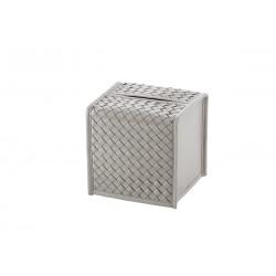 Square Tissue Box Grey