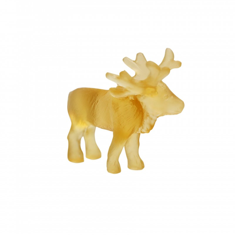 Light Amber Mini-Reindeer