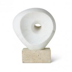 Margot Objet White Marble