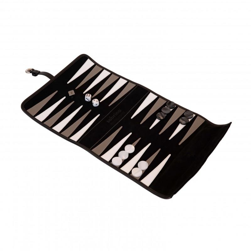 Backgammon Travel Set Black