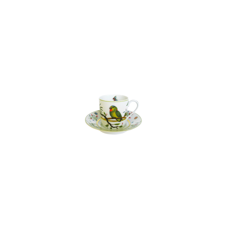 Le Bestiaire by Alain Thomas Coffee Cup and Saucer
