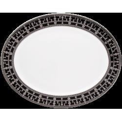 Tiara Oval Platter Black...