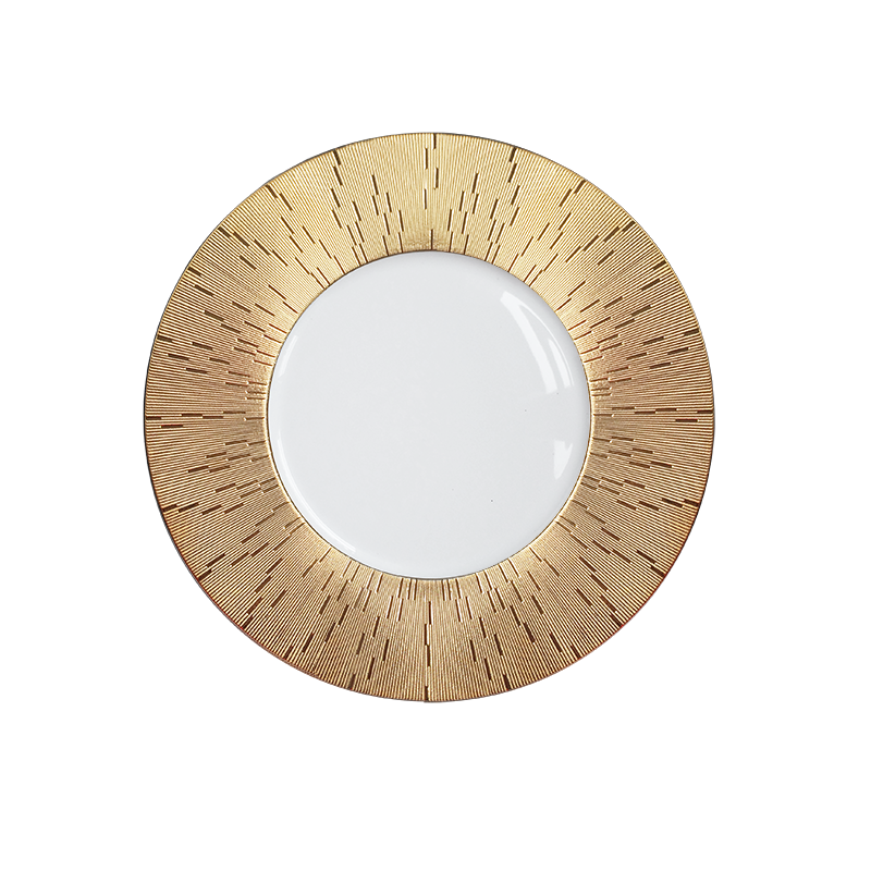 Infini Prestige Dinner Plate Gold