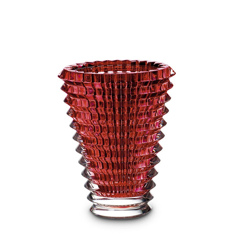 Eye Vase Oval Red