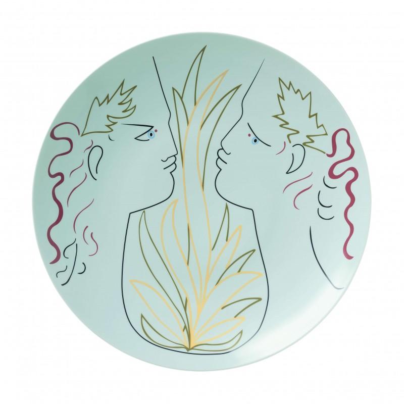 Jean Cocteau Large Plate