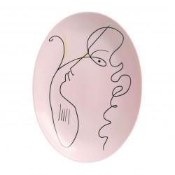 Jean Cocteau Oval Platter
