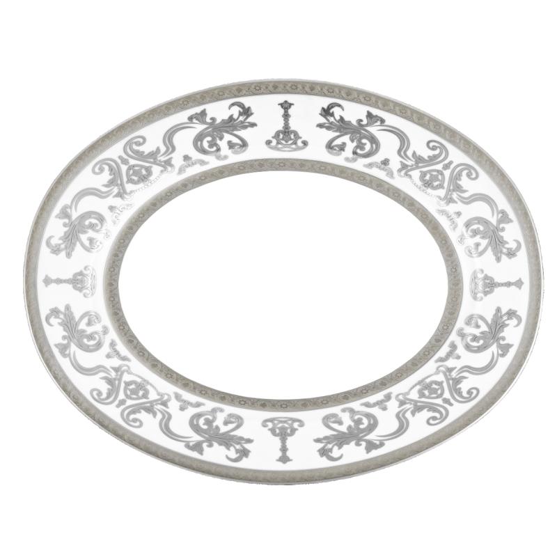 Couronne Impériale Oval Platter