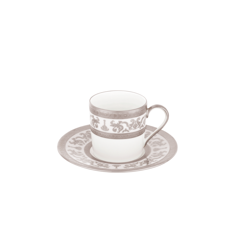Couronne Impériale Coffee Cup and Saucer