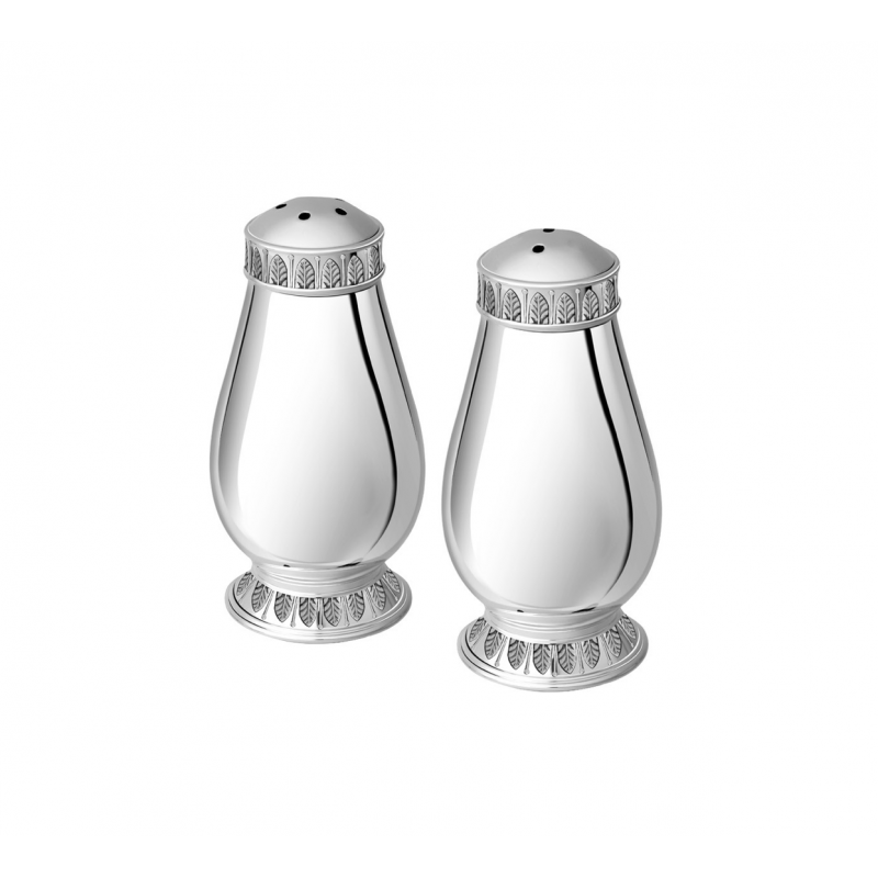 Malmaison Silver-Plated Salt and Pepper Shakers