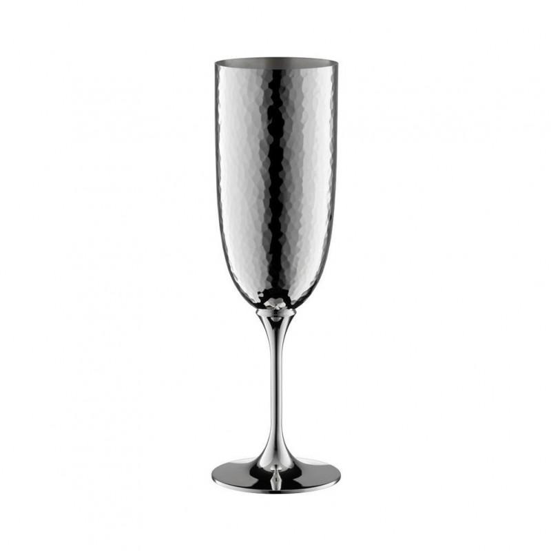 Martelé Champagne Flute