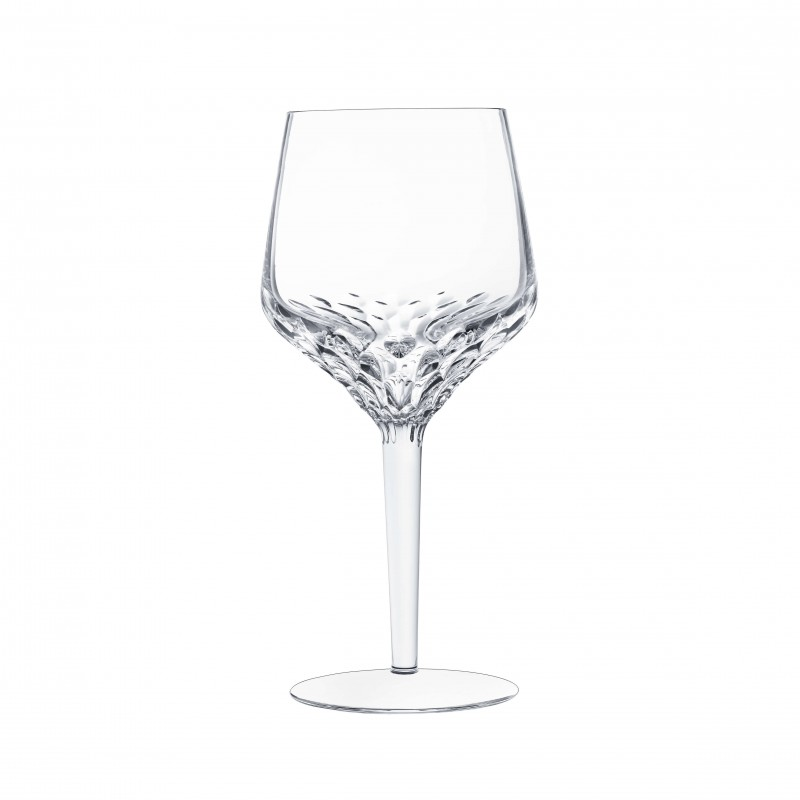 Folia Footed Water Glass Clear