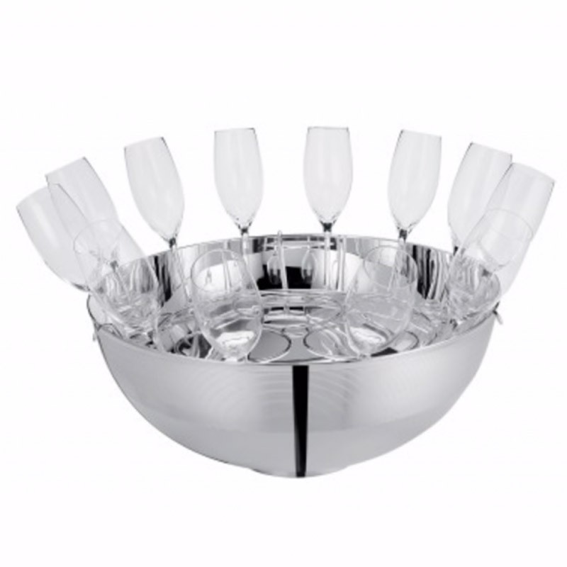 Transat Champagne Set 12 Glasses