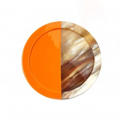 Horn and Lacquer Coaster