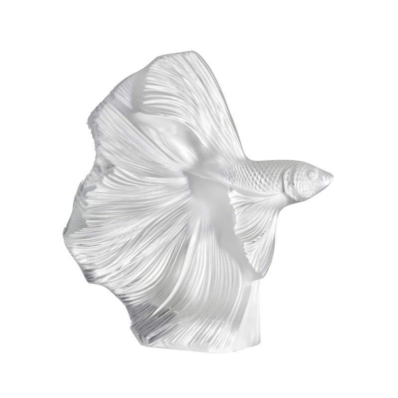 Sculpture Poisson Combattant Grand Modèle