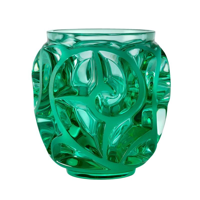 Vase Tourbillons Vert Menthe Petit Modèle
