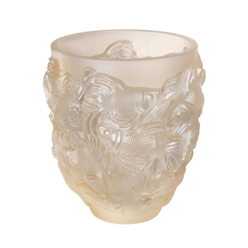 Rosetail Vase Gold Luster