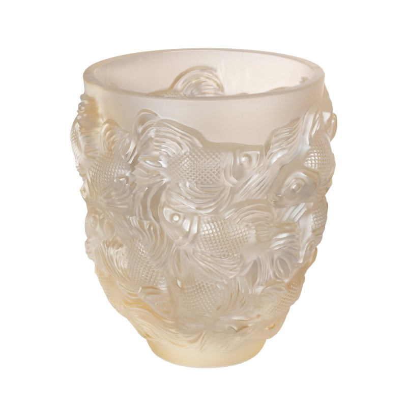Rosetail Vase Lustré Or