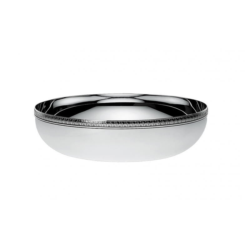 Malmaison Silver-Plated Round Serving Bowl Large Size