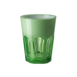 Double Face Tumbler Green