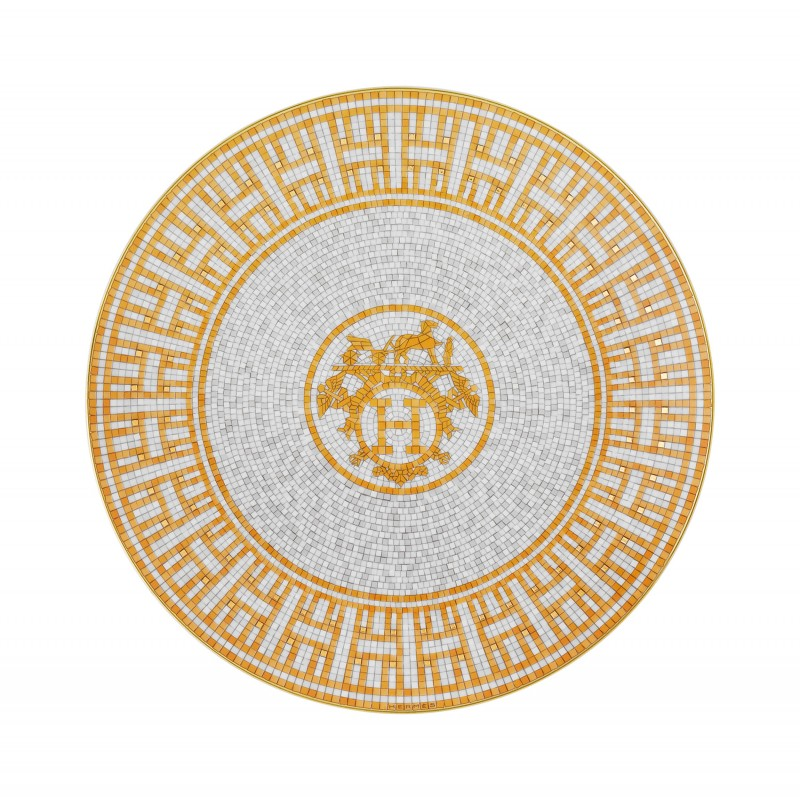 Mosaïque au 24 Gold Dessert Plate - Set of 2