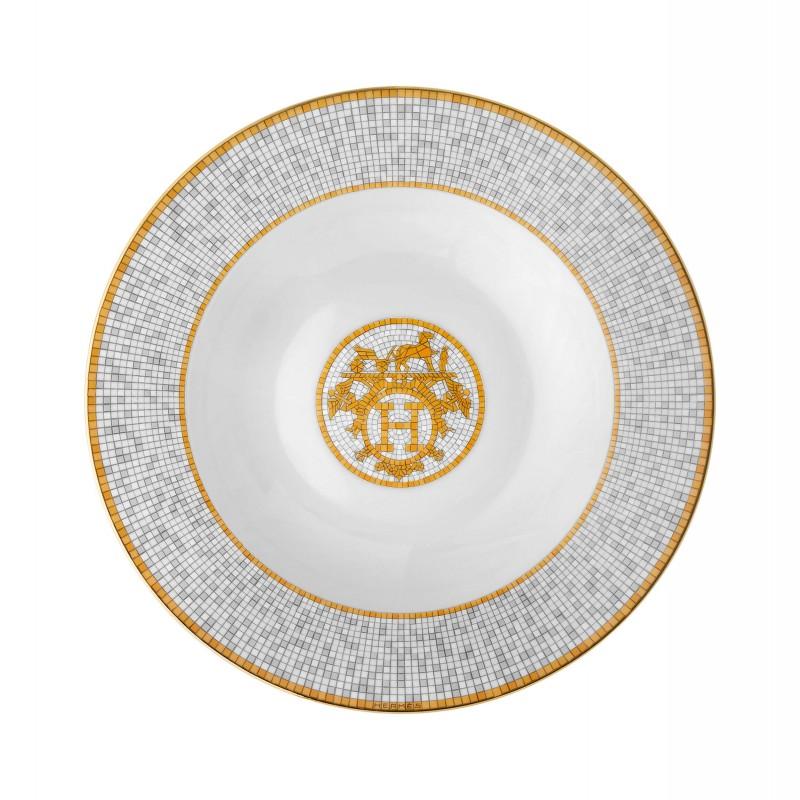 Mosaïque au 24 Gold Soup Plate - Set of 2