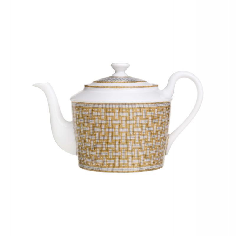 Mosaïque au 24 Gold Tea Pot