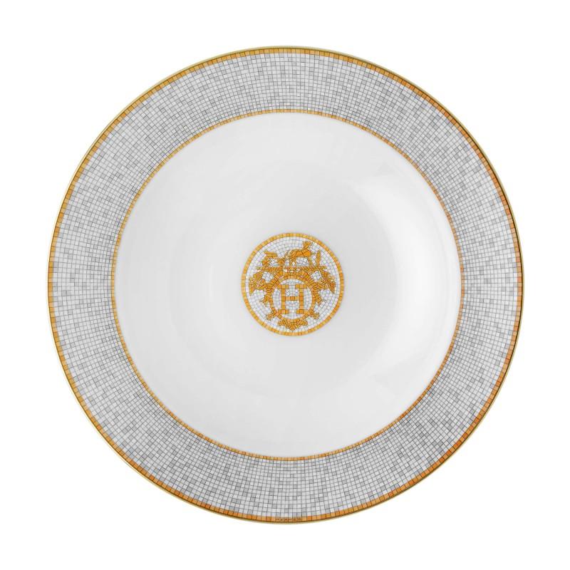Mosaïque au 24 Gold Round Deep Platter