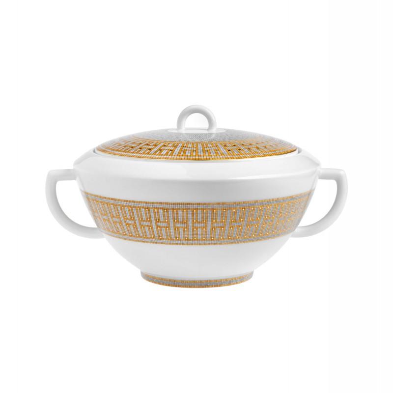 Mosaïque au 24 Gold Soup Tureen