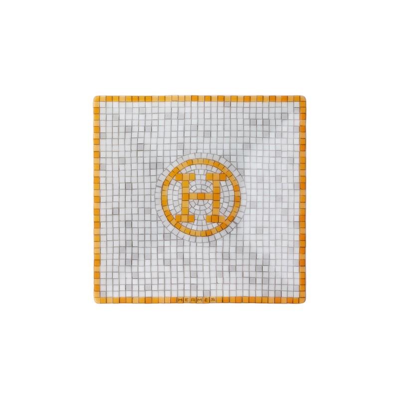 Mosaïque au 24 Gold Square Plate N°1