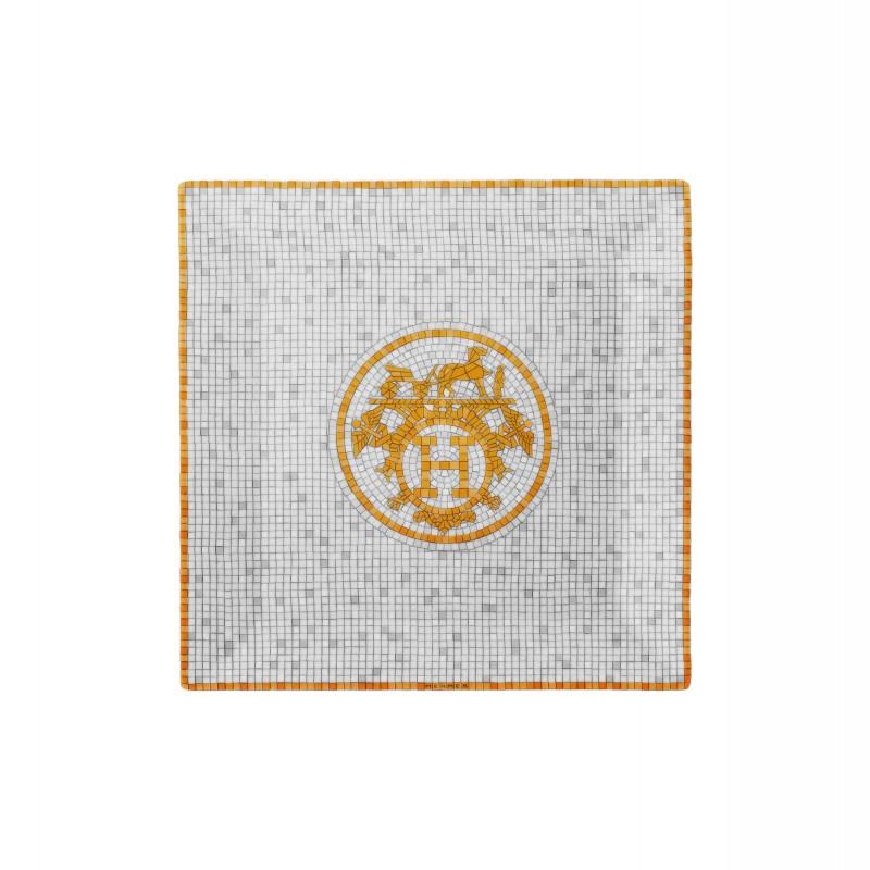 Mosaïque au 24 Gold Square Plate N°3