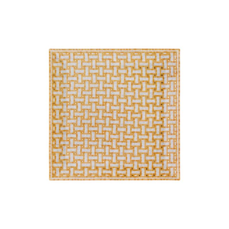 Mosaïque au 24 Gold Square Plate N°4