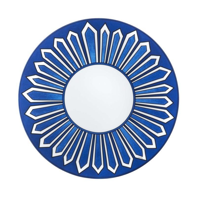Bleus d'Ailleurs Dinner Plate Blue - Set of 2