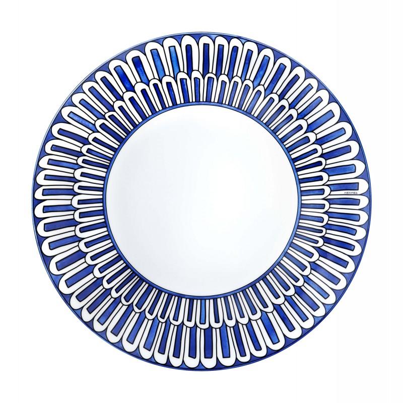 Bleus d'Ailleurs Dessert Plate Blue - Set of 2