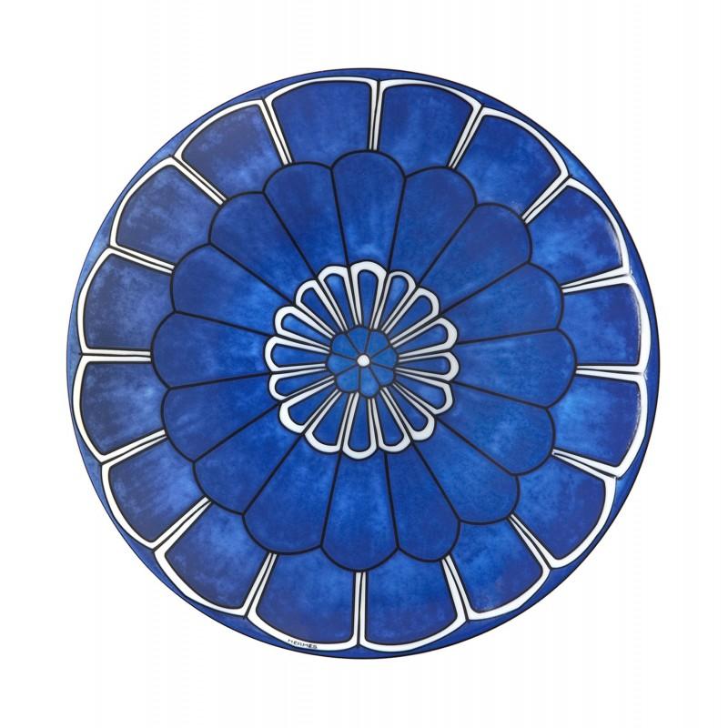 Bleus d'Ailleurs Bread and Butter Plate Blue - Set of 2