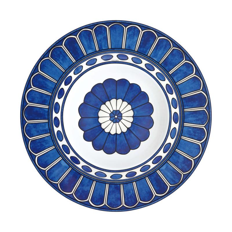 Bleus d'Ailleurs Pasta Plate Blue - Set of 2