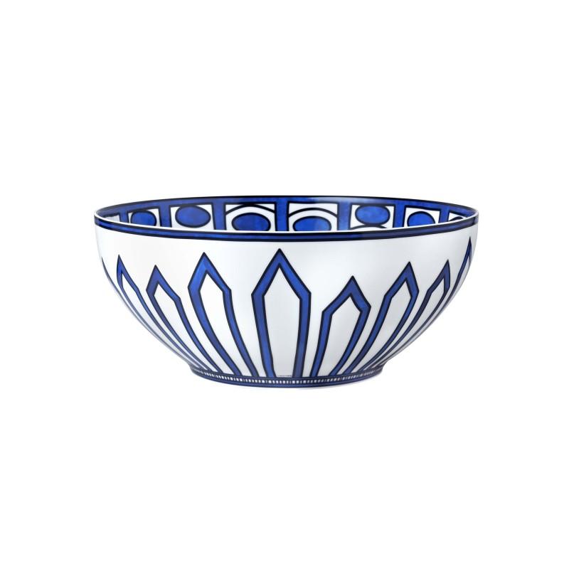 Bleus d'Ailleurs Large Salad Bowl Blue