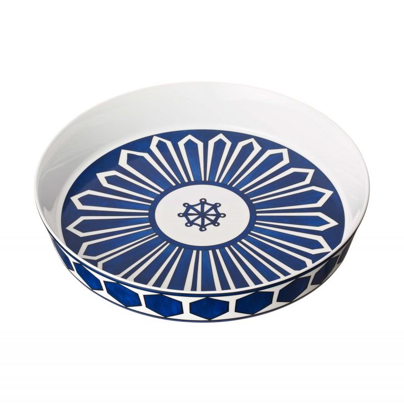 Bleus d'Ailleurs Large Baking Dish Blue