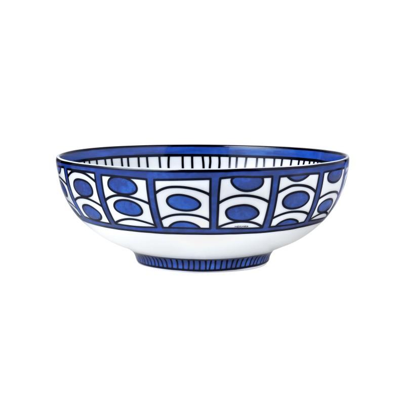 Bleus d'Ailleurs Small Salad Bowl Blue
