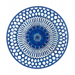 Bleus d'Ailleurs Round Tray...