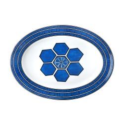 Bleus d'Ailleurs Large Oval...