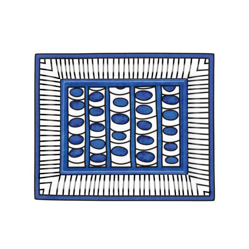 Bleus d'Ailleurs Valet Tray Blue