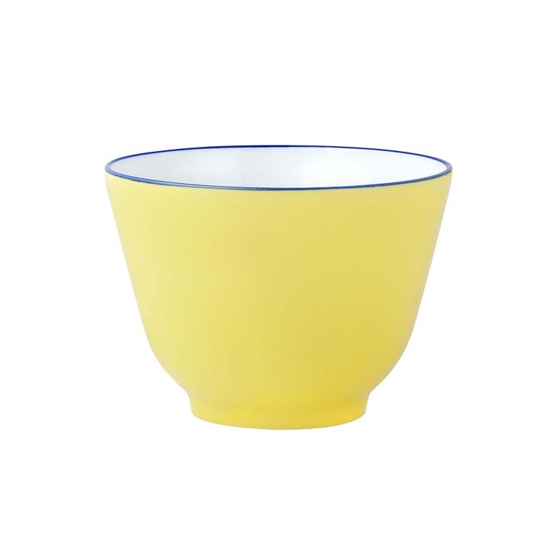 Bleus d'Ailleurs Bowl Yellow