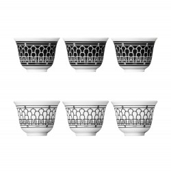 Set of 6 Small Cups H Déco...